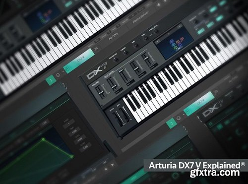 Groove3 Arturia DX7 V Explained TUTORiAL-SYNTHiC4TE