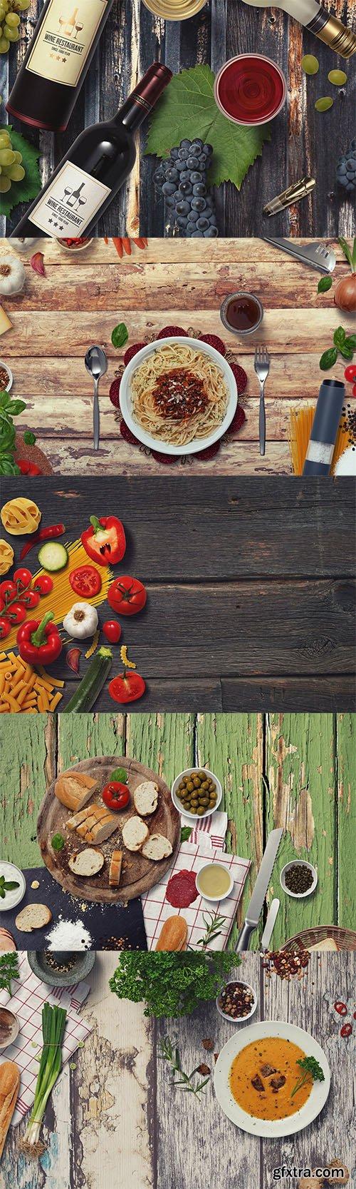 Kitchen Mockup Scenes Vol.4