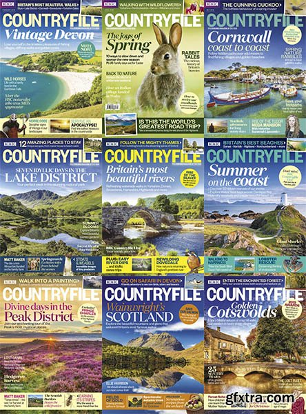 BBC Countryfile - Full Year Collection Issue 2018
