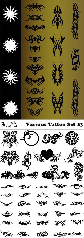 Vectors - Various Tattoo Set 23