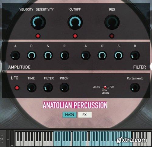 Rast Sound Anatolian Percussion v2 KONTAKT WAV