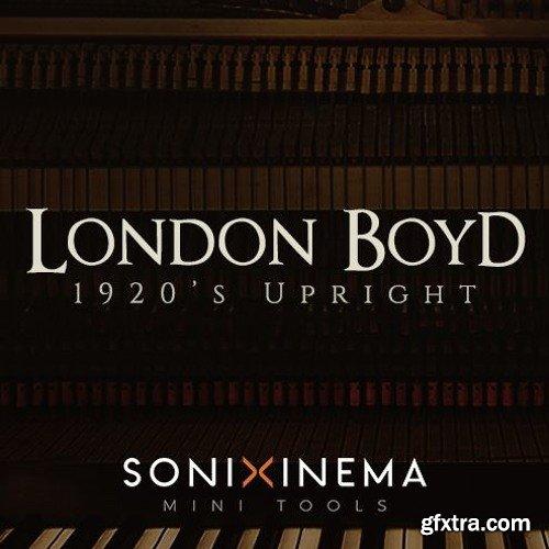 Sonixinema London Boyd 1920s Upright For NATiVE iNSTRUMENTS KONTAKT-DISCOVER