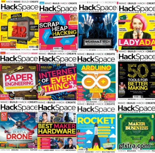 HackSpace - Full Year 2018 Collection