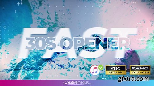 Pond5 - Fast 30S Opener - After Effects Template 098186994