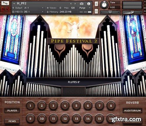 Hephaestus Sounds Pipe Festival 2 v2.0 KONTAKT