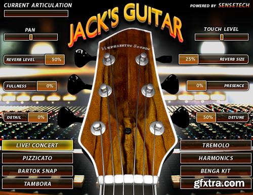 Hephaestus Sounds Jack's Concert Guitar v1.10 KONTAKT