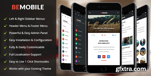 ThemeForest - Be Mobile v1.2 - Mobile and Tablet Responsive WordPress Theme (WooCommerce Ready) - 19326597