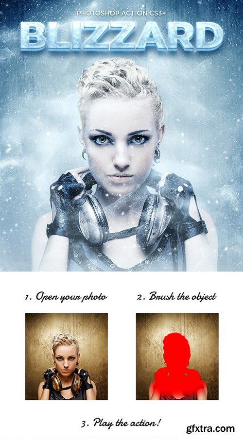 Graphicriver - Blizzard Photoshop Action CS3+ 17195493