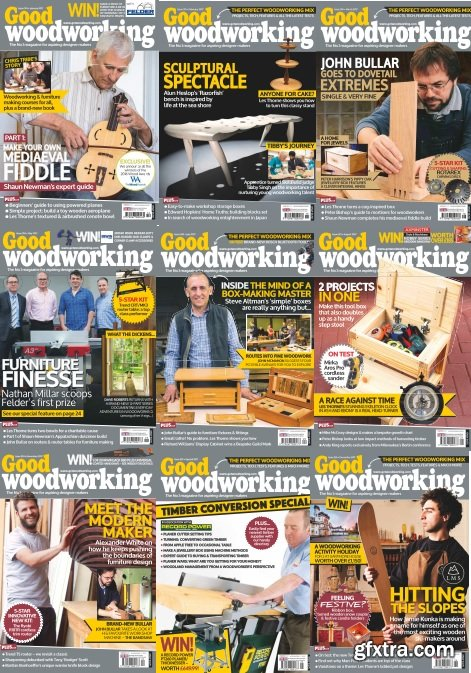 Good Woodworking - Full Year 2018 Collection
