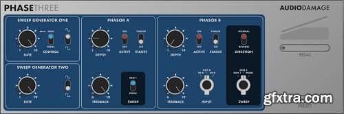 Audio Damage AD048 PhaseThree v3.1.0 LiNUX RETAiL-SYNTHiC4TE
