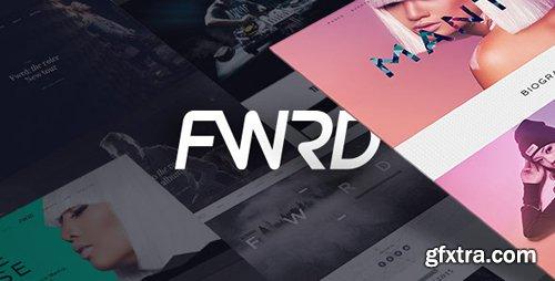 ThemeForest - FWRD v2.0.10 - Music Band & Musician WordPress Theme - 12087239