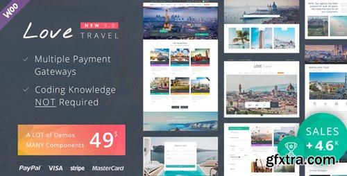 ThemeForest - Love Travel v3.1 - Creative Travel Agency WordPress - 7704831