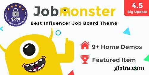 ThemeForest - Jobmonster v4.5.1.9 - Job Board WordPress Theme - 10965446