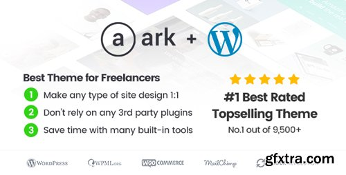 ThemeForest - The Ark v1.40.0 - WordPress Theme made for Freelancers - 19016121
