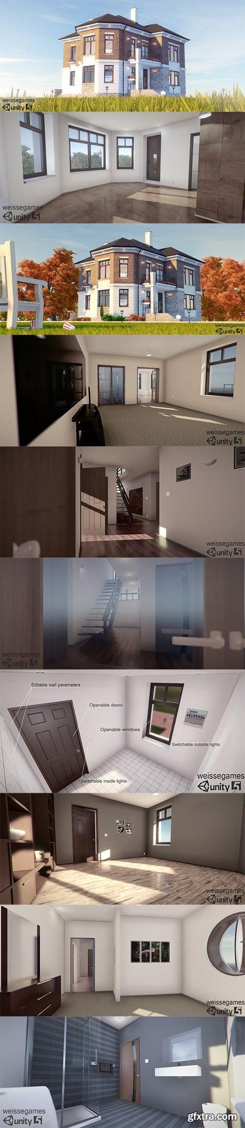 Cubebrush - Cottage | Unity 5