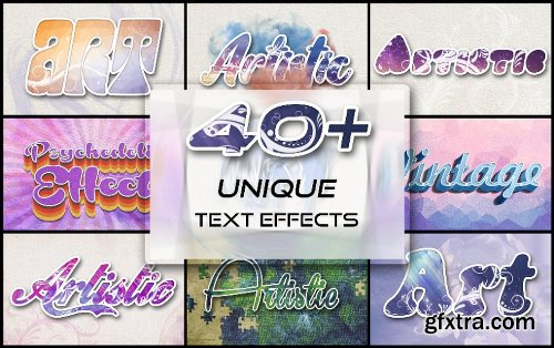 Inkydeals 40+ Unique Text Effects To Trendify Your Designs