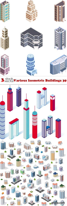 Vectors - Various Isometric Buildings 39