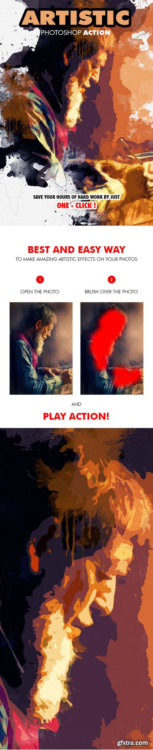 Graphicriver - Artistic Photoshop Action 19663049