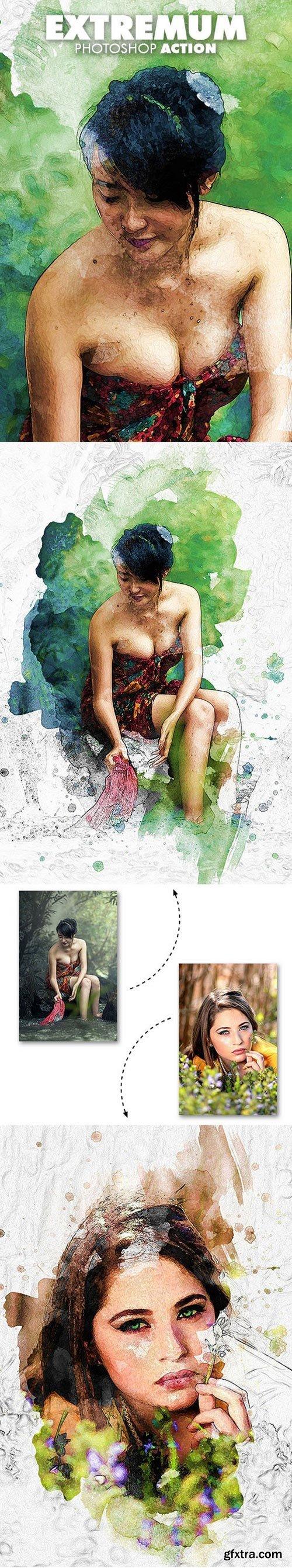 Graphicriver - Extremum Photoshop Action 19705733