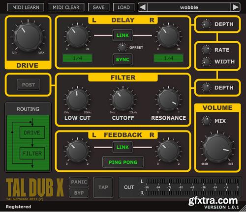 Togu Audio Line TAL-Dub-X v1.8.2