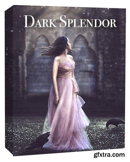 JD Dark Splendor Photoshop Actions