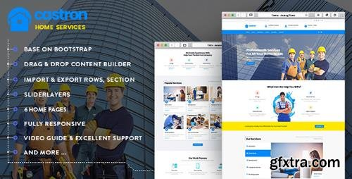 ThemeForest - Castron - Home Maintenance, Repair and Improvement Services Drupal 8.6 Theme (Update: 8 September 18) - 22448918