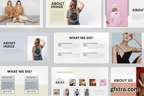 Model - Powerpoint Google Slide and Keynote Templates