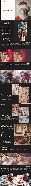 Christmas Theme Color Grading Collection 01