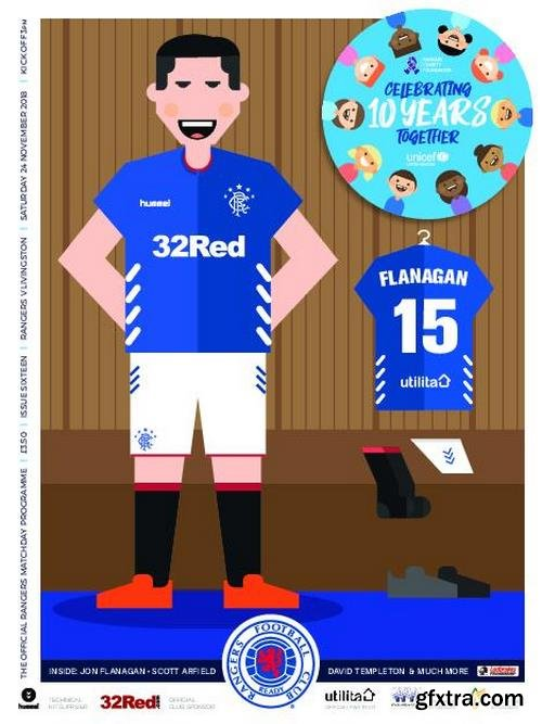 Rangers Football Club Matchday Programme – 23 November 2018