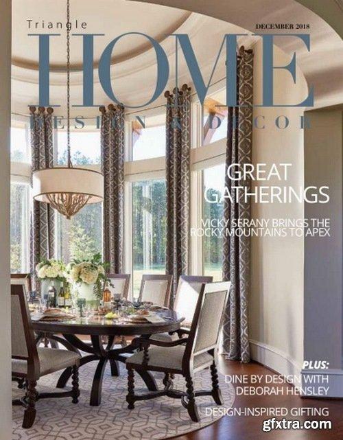 Home Design & Decor Triangle – December 2018