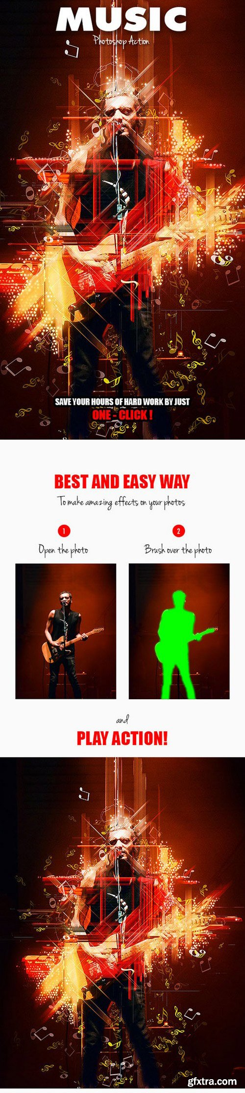 Graphicriver - Music Photoshop Action 17296287