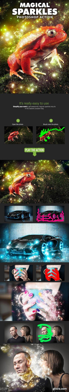 Graphicriver - Magical Sparkles Photoshop Action 16838062