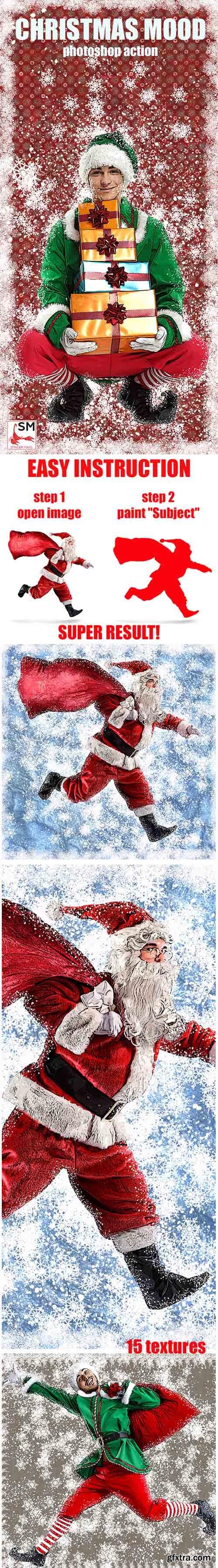 Graphicriver Christmas mood Photoshop Action 21080047