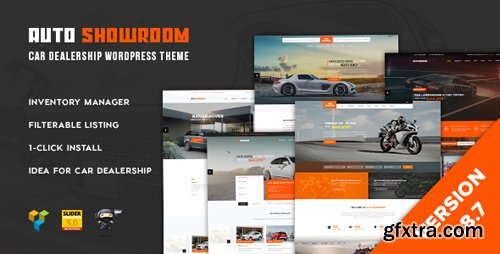 ThemeForest - Auto Showroom v1.8.7 - Car Dealership WordPress Theme - 15995336