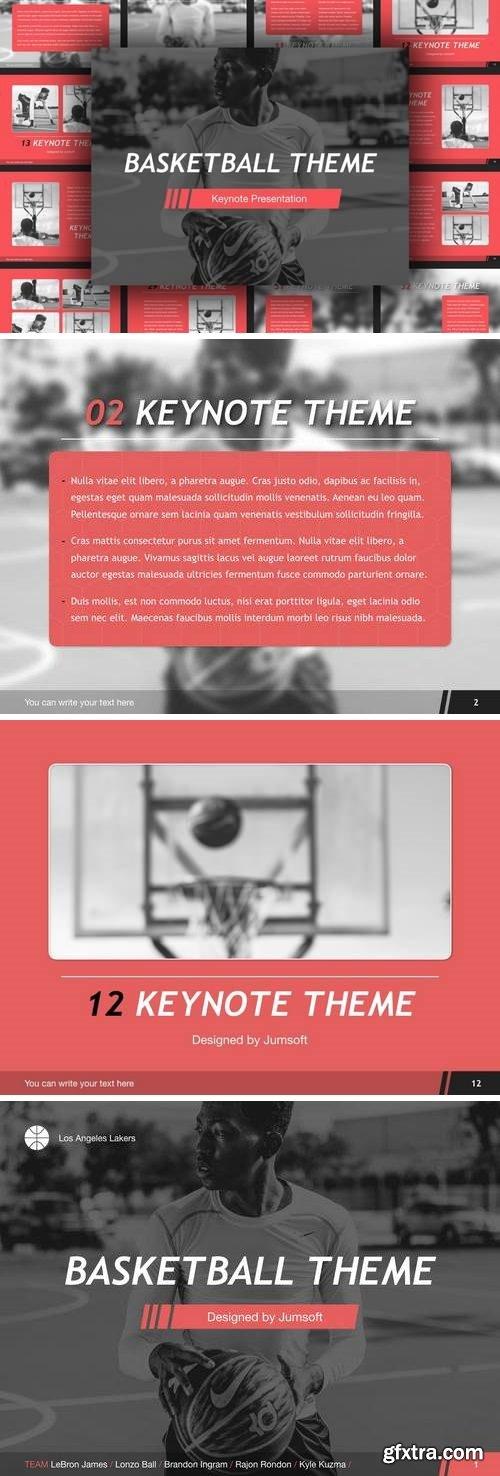 Basketball Keynote Template