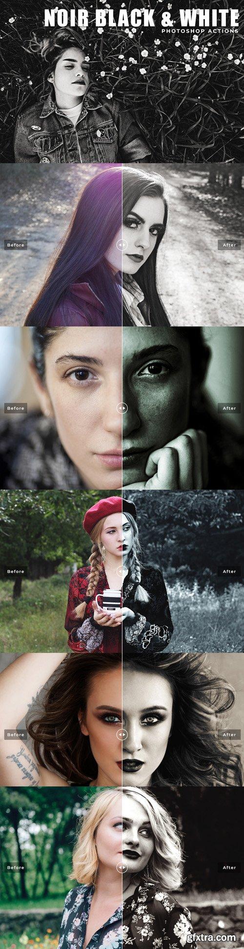 Noir Black & White Photoshop Actions
