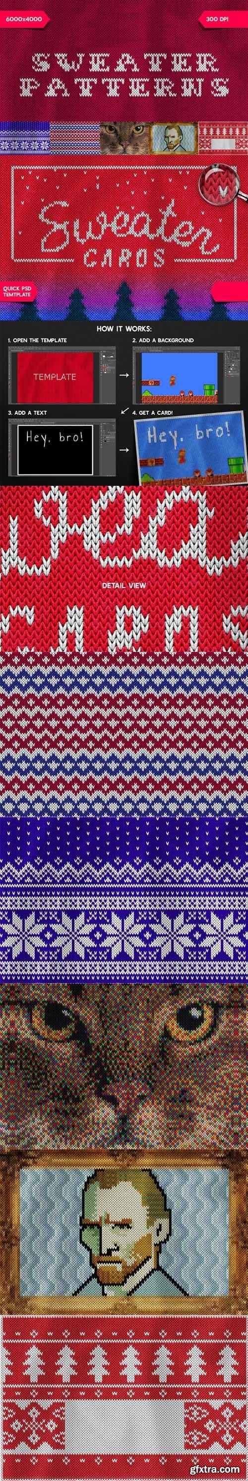 5 Christmas Sweater Patterns