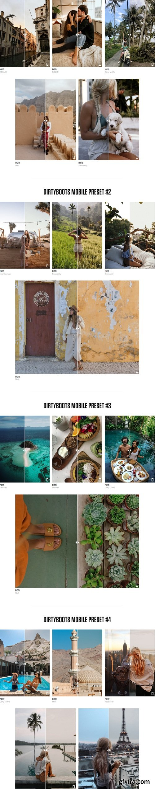 Dirtyboots Mobile Presets