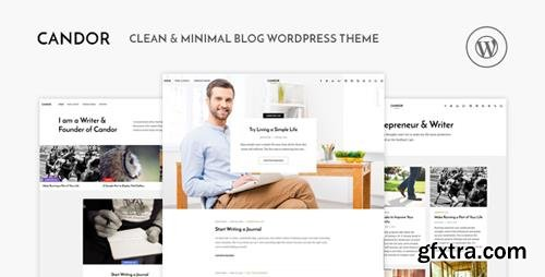 ThemeForest - Candor v1.1.2 - Responsive WordPress Blog Theme - 16227135