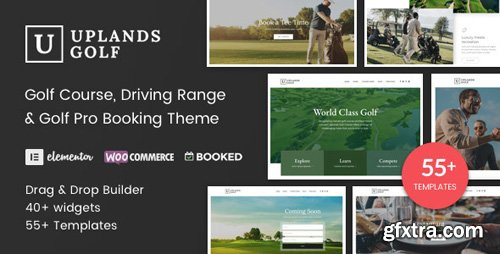 ThemeForest - Uplands v1.3 - Golf Course WordPress Theme - 22776390