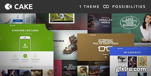 ThemeForest - Cake v1.5.3 - Responsive Multi-Purpose WordPress Theme - 6913568