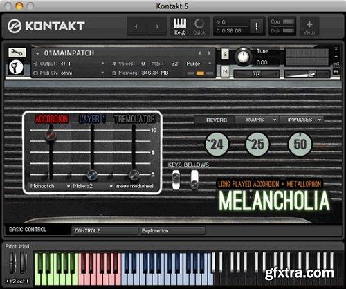 Sturmsounds MELANCHOLIA KONTAKT-AWZ