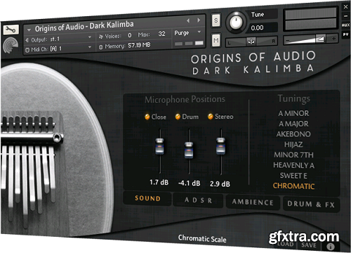 Origins Of Audio Dark Kalimba For NATiVE iNSTRUMENTS KONTAKT-DISCOVER