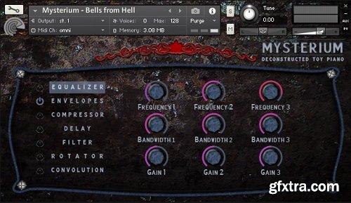 Origins Of Audio Mysterium For NATiVE iNSTRUMENTS KONTAKT-DISCOVER