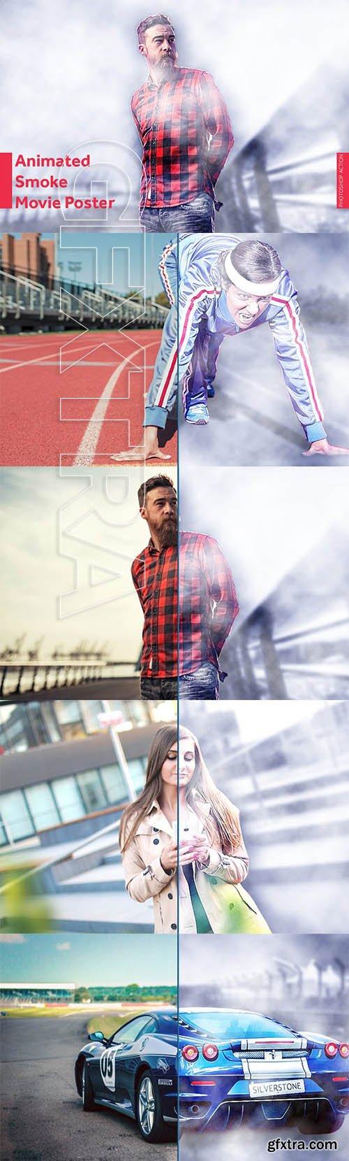 CreativeMarket - Smoke Movie Poster Animation 3162217