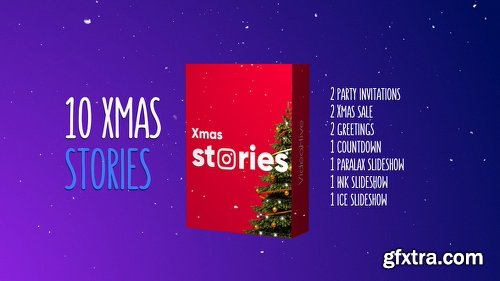 Videohive Christmas Stories Kit 22939458