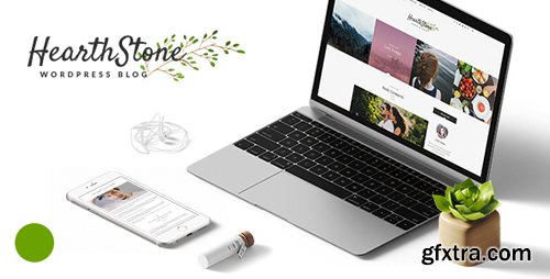ThemeForest - HearthStone v1.7 - Responsive WordPress Blog Theme - 15374354