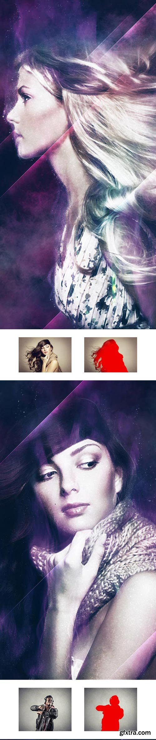 GraphicRiver - Ethereal Dream CS4+ Photoshop Action - 22715650