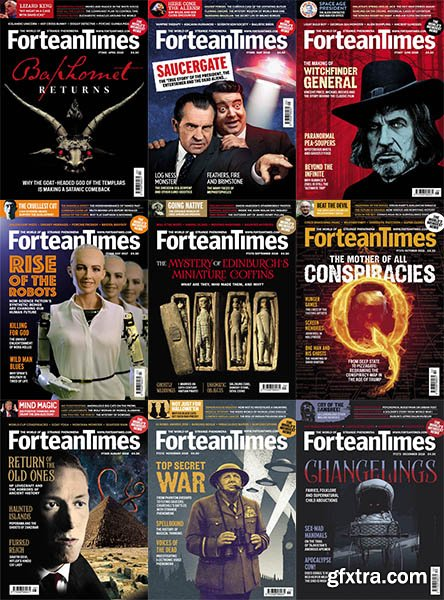Fortean Times - 2018 Full Year Issues Collection