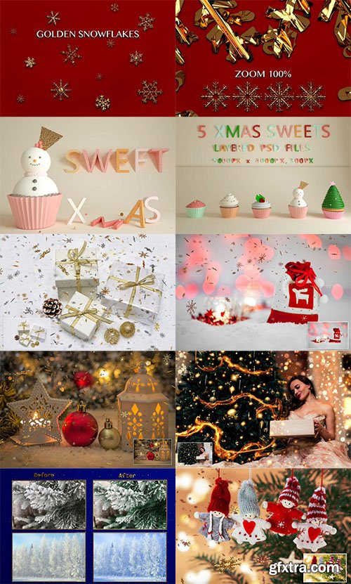 Inkydeals Christmas and New Year Winter Bundle